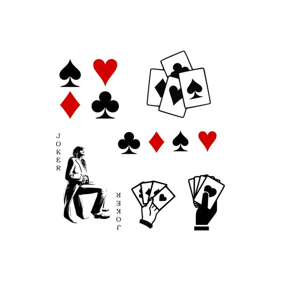 Playing Cards Svg Playing Card Symbols Svg Heart Svg Club Svg