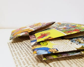 Comic envelope set - 10 pc