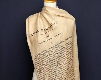Anna Karenina shawl/scarf - english version