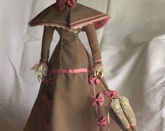 """Franklin Heirloom """"Day At The Race"""" Porcelain Doll"""