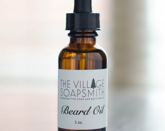 Beard Oil, Premium All Natural Beard Oil, Gift for Him, Beard Balm, Beard Conditioner, Beard Care, Woodsy Scent, Mens Grooming