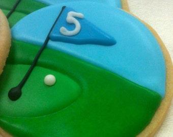PLAY GOLF Sugar Cookie Party Favors, 1 Dozen