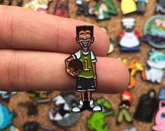 Vince LaSalle Recess Custom Enamel Pin, Pin, Pins, Pin Game, Pin Set, Custom Pins, Limited Edition Pin, Hat Pin, Cartoon pin, Recess, TV Pin