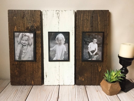 Picture Frame Set - Wood Picture Frame - Rustic Picture Frame ...