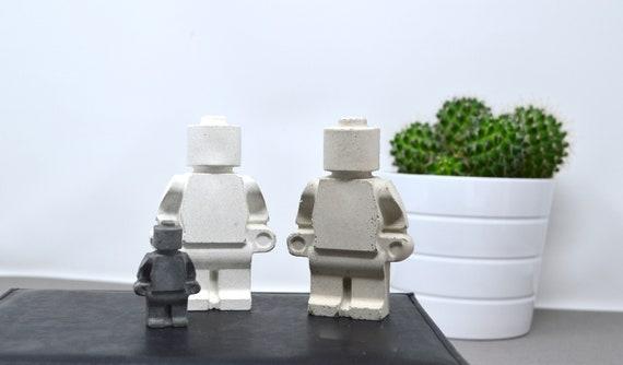 Lego Gift Lego Man Concrete Man Boyfriend Gift Family