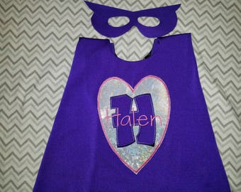 SUPERHERO CAPE - Super Hero Cape Mask - Personalized Cape - Boy Cape-Photo Prop-Superhero Birthday-Kid Cape - Kids Gift - Superhero Costume