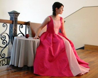 Ball Gown, Wedding Dress, Modest Prom Dress, Formal Gown, Princess Dress  -- CUSTOM MADE in any fabric
