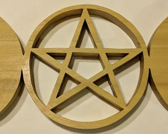 Triple moon pentagram