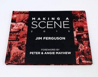Making a Scene - Jim Ferguson 2015 Movie scene art book.