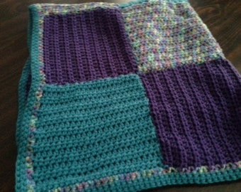 Patchwork Square Afghan