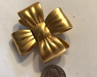 Goldtone 4 loop bow pin
