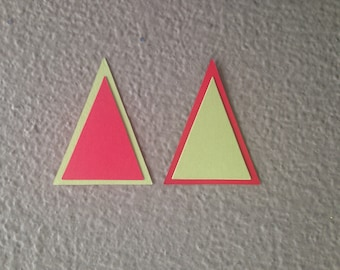 Small Pennant Die Cuts