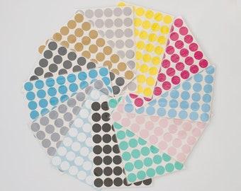 Polka Dot Wall Decal - Small Polka Dot Decal - White Polka Dot Decal -Kids wall decal-Baby room decal- White Polka dot wall stickers