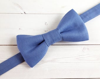 Toddler Bow Tie, Baby Bow Tie, Boys Bow Tie, Blue Bow Tie, Suit Tie, Wedding Bow Tie, Mens Bow Tie, Bow Tie, Bowtie, Ring Bearer Bow Tie