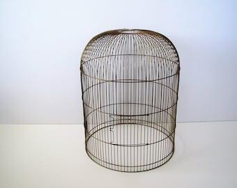 vintage large gold bird cagedecorative bird cage roundplant display - Decorative Bird Cages