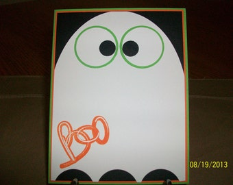 Ghosty Halloween Card