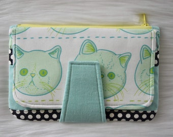 Exotic Shorthair Pearl Wallet by Swoon