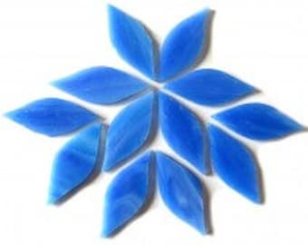 Stained Glass Petal - Dream Blue - 12 pieces (approx 0.25g)