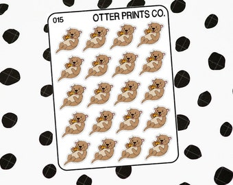 Pizza || Otis the Otter Character Stickers