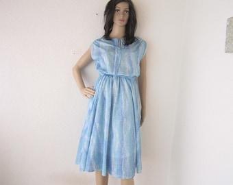 Vintage 60s dress rockabilly dress robe S / m