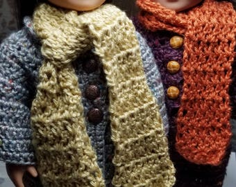 Crochet PATTERN -- Winter Ensemble for 18-inch Doll