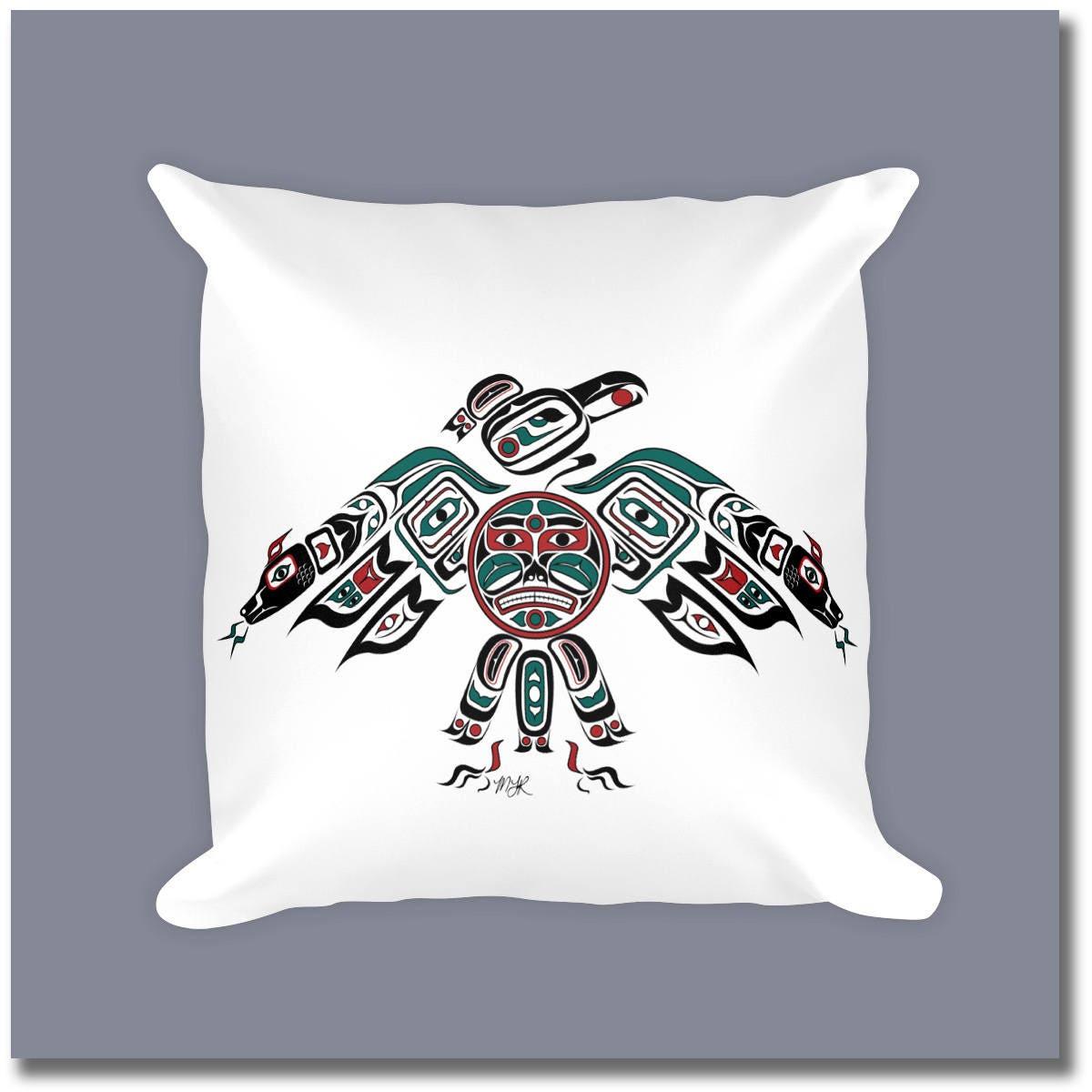 Canadian Inspired Home Decor Canada Pillow Via Etsy: Haida Art Style Throw Pillow Thunderbird
