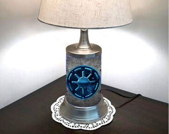 Star Wars Lamp with shade, Galactic Republic