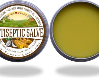 Turmeric Salve (1 oz.) - Made with organic FDA approved ingredients.