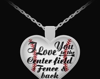 Baseball Necklace for Girlfriend, Baseball Necklace for Girls, Baseball Gift, Baseball Necklace, Baseball necklaces, Baseball Jewelry, Wife