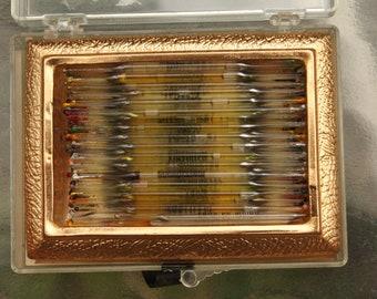 Vintage 1940s 1950s Perfume Nips 49 Different Scents Bourjois, Blanchard, Lucien Lelong, Lanier 95 Nips Total
