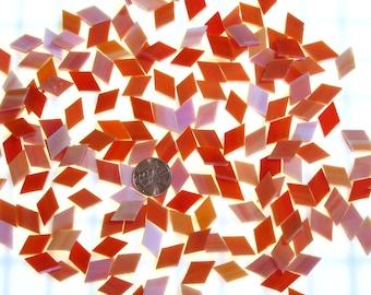 Orange Red Mosaic Tile