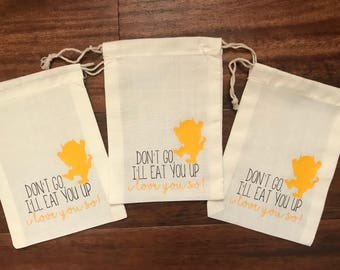 Where the Wild Things Are Favor Bags, Where the Wild Things Are Birthday