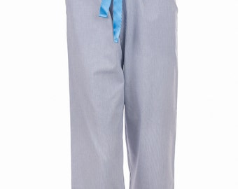 Pants pyjamas Moony cotton tie at the waist