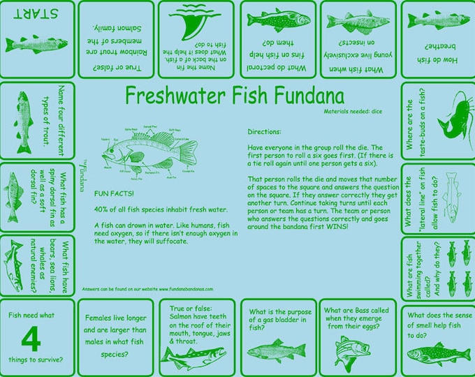 Love to fish? Play our Freshwater Fish Game and get your kids to learn and appreciate freshwater fish!