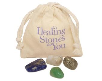 Panic / Anxiety Healing Stone Set