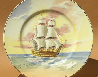 Royal Doulton Series Ware Plate - Famous Ships