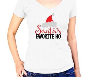 Christmas Shirt Santa Shirt Funny Christmas Holiday Shirt Christmas Outfit Christmas Gift Girl Christmas Shirt Christmas Santa