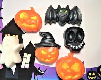 Halloween Soap-Pumpkin-Ghost-Bat-Skull Soap-Kids Soap