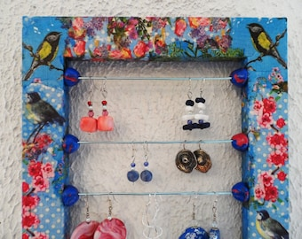 Wall Organizer romantic and naive style