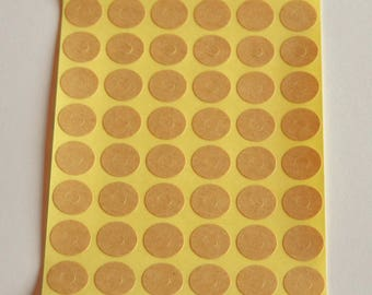 1 Board with 40 kraft paper eyelets