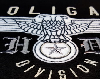 Hooligans Division Hoodie - The unique design and original embroidery
