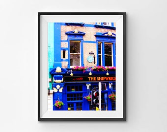 London Pub - The Shipwright Arms - Wall Art Digital Print