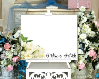 CANVAS Wedding Guest Book Canvas Guest book Alternative Wedding Guestbook Wedding gift Wedding Guest Book Ideas Wedding Guestbook