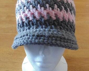 Ladies Crochet Hat, Babies Crochet Hat, Girls Crochet Hat, Brick Stitch Hat, Winter Hat, Ladies Hat, Women's Hat, Babies Hat, Girls Hat