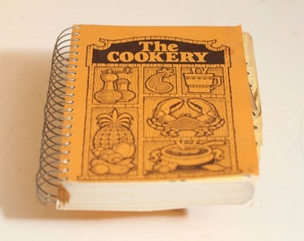 The COOKERY Cookbook CUNA Insurance Group Rare Recipe Book Vintage