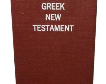 Christian The Greek New Testament 1966