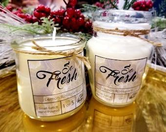 So Fresh - Candle (Lemon Rosemary)