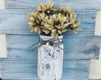 Wooden mason jar holder!