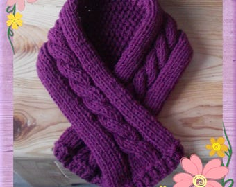 Baby soft wool scarf