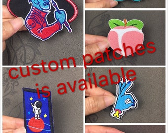300 pcs letters custom patch custom name patch Iron on patch or Sew on patches